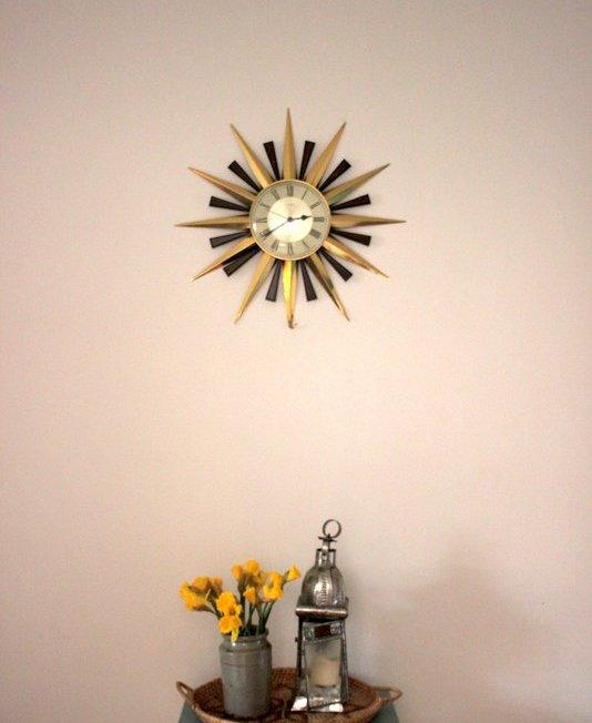 Kitchen Sun Clock